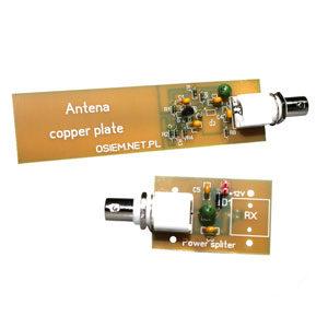 Antena mini whip, antena aktywna, antena odbiorcza